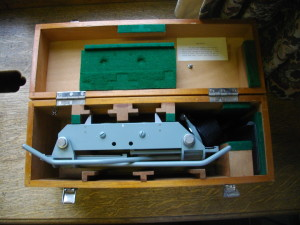 Stereoscope, made in England.