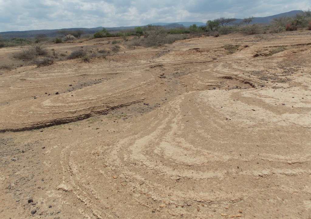 Erosion in the Kiserian area south of Lake Baringo © Nik Petek