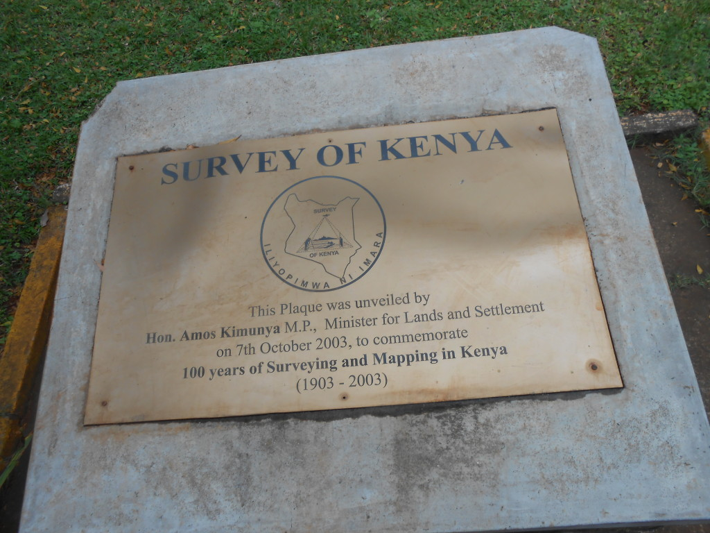 Survey of Kenya visit