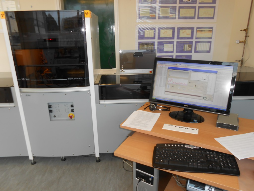 Sediment analyses at Aberystwyth University