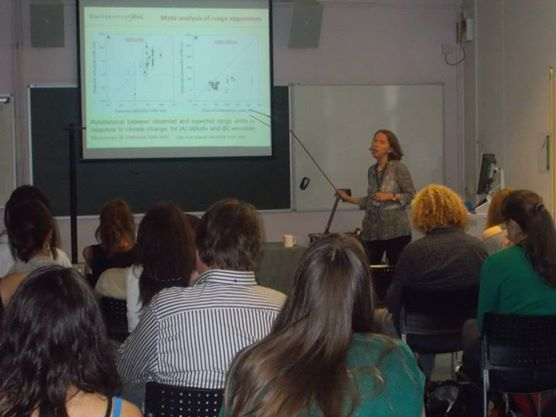 Keynote speech by Prof. Jane Hill (University of York) - Conserving species in tropical agriculture-landscapes - oil palm climate change and forest fragmentation