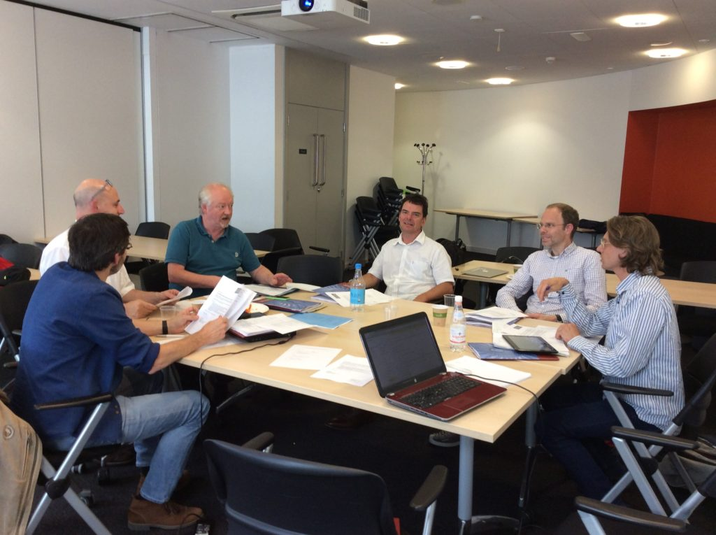 REAL project management and advisory board meeting