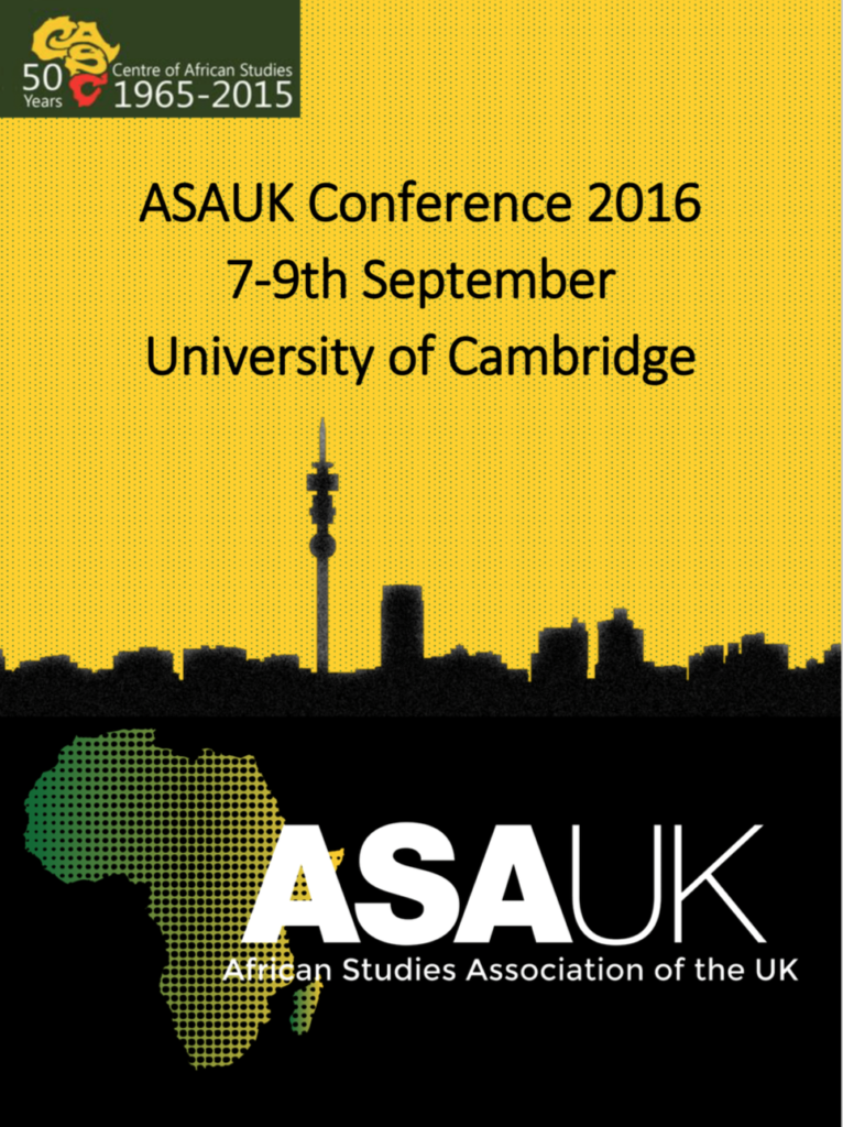 REAL at the ASAUK conference 2016