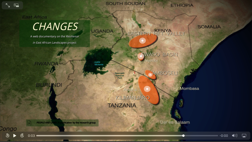 Changes. A Web Documentary on the Resilience in East African Landscapes Project