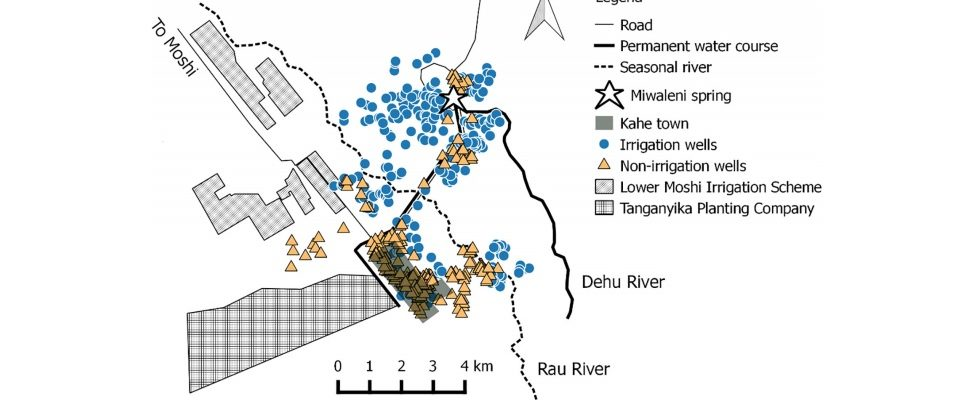 New Paper Published: Water resources on Kilimanjaro