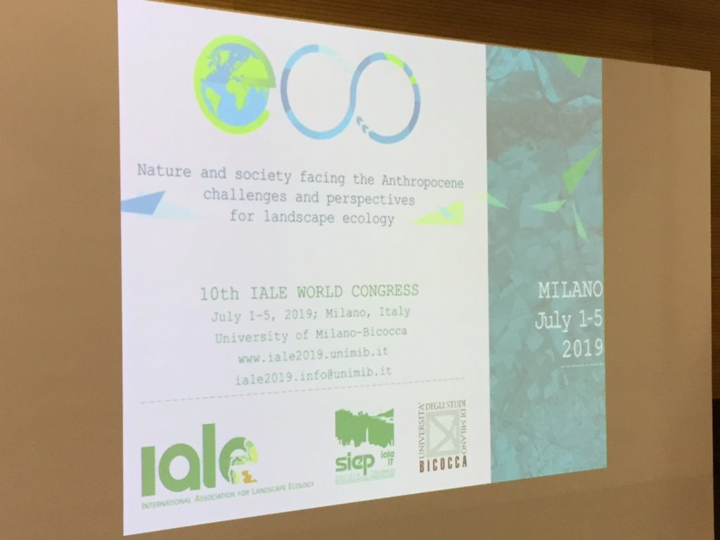 ARCC at the 10th IALE World Congress 2019 in Milan, Italy