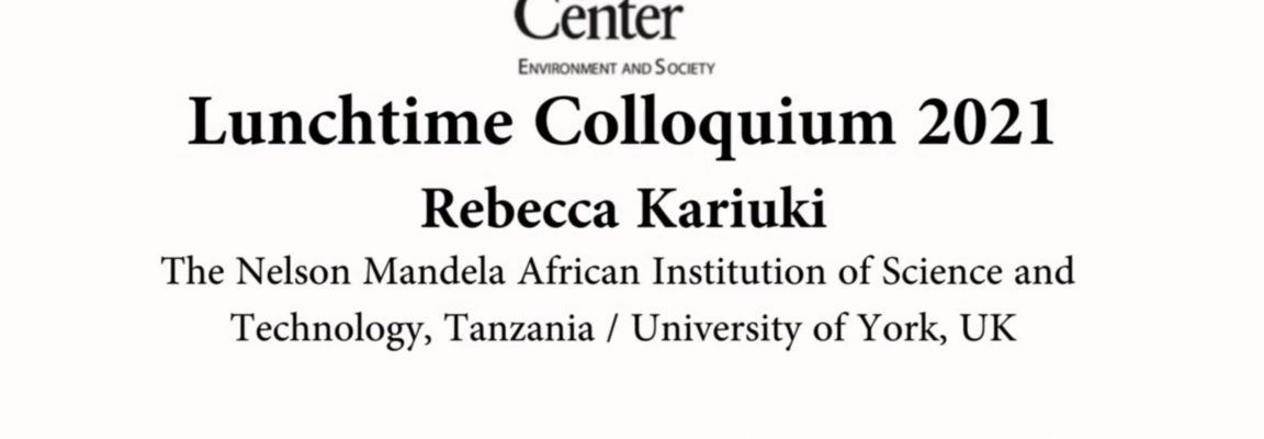 Talk on East African futures